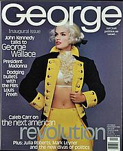 October/November 1995 Inaugural Issue George Magazine