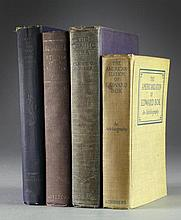 (4) 1920's Non Fiction Books
