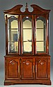 Mahogany Chippendale-Style Breakfront