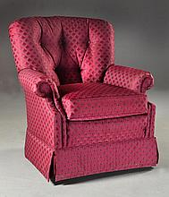 Sherrill Furniture Co. Upholstered Rocking Chair