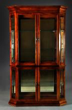 Pulaski Furniture Co. Glass & Wood Curio Cabinet