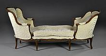 A French Provincial Style Chaise Lounge
