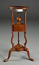 A George III Mahogany Wash Stand and Bowl