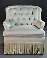 Ashley Manor Hollywood Regency Style Chair