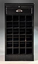 Ebony Wine Cabinet