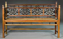 Chinese Qing Hardwood Bench
