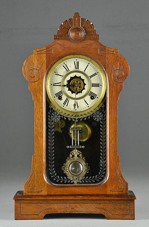 Waterbury Eastlake Mantle Clock
