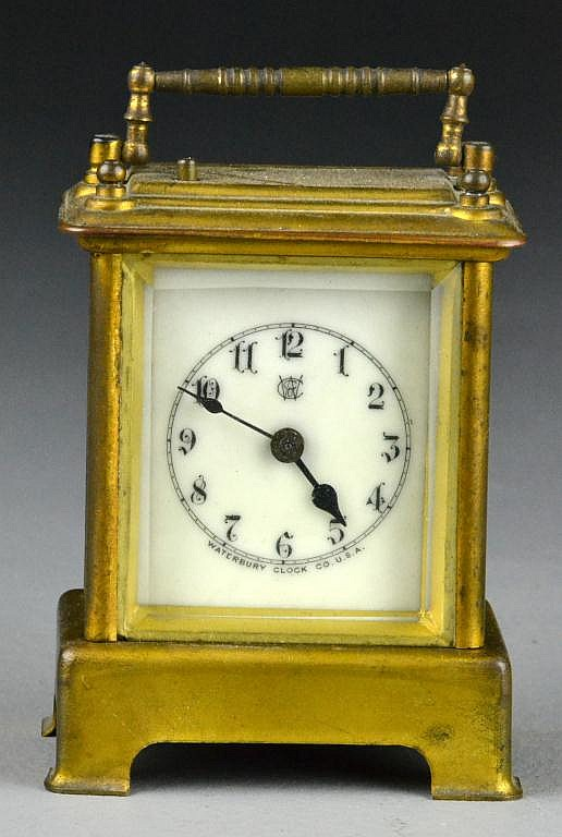 Antique Waterbury Miniature Carriage Clock