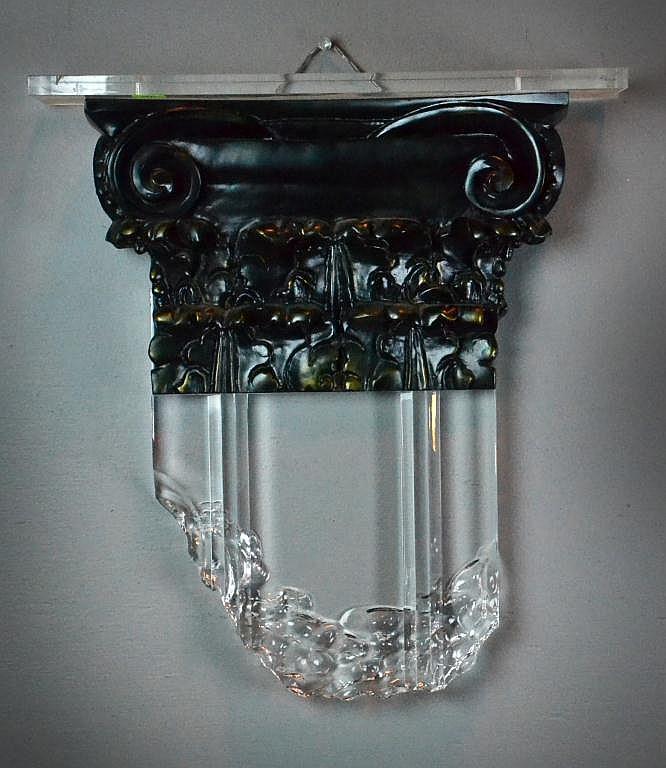Lucite/Composite Decorative Sculpture by Renato