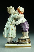 An Early 20th C. German Porcelain Figural Statue