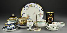 (11) Pcs. Continental Porcelain Items Inc. Limoges