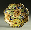 Boch Freres Enameled Footed Bowl