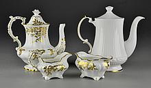 An English Porcelain Tea Set and More