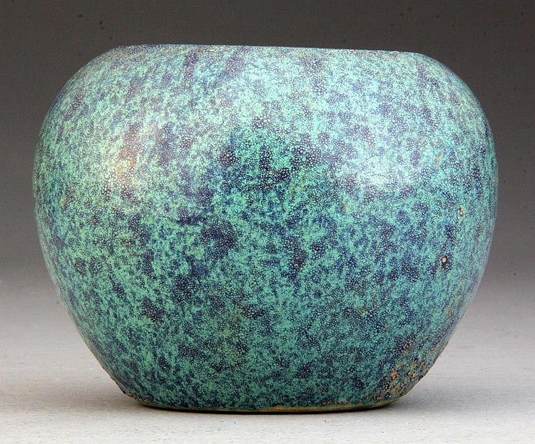 Chinese Turquoise Glaze Porcelain Pot