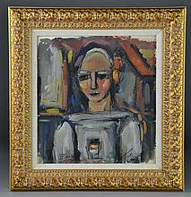 Georges Rouault (Attributed) Watercolor Painting