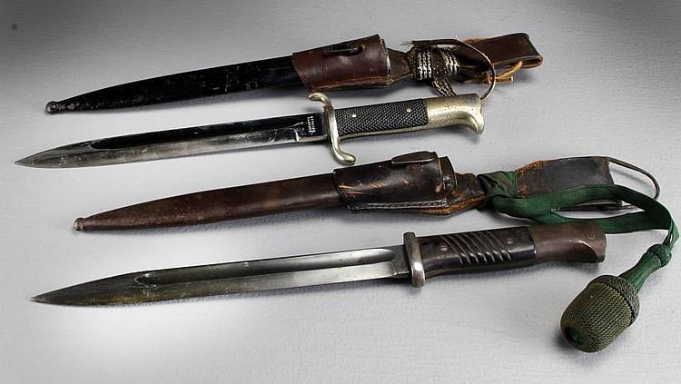 (2) WWII German Bayonets