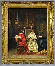 A Frédéric Soulacroix Oil Painting on Canvas