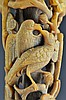 A Full Tip Rhinoceros Horn Carving Qing Dynasty 19th C.