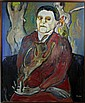 A German Expressionist Oil Painting on Canvas