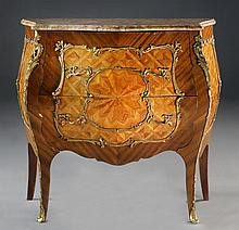 A French Bombay Marquetry & Gilt Mounted Cabinet