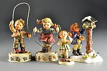 (5) Hummel Porcelain Figurines