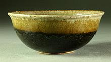 A Roycroft Glazed Pottery Bowl