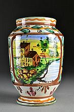 An Italian Ceramic Vase