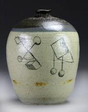 Allan Winkler Stoneware Vessel