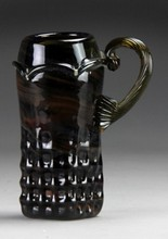 Fritz Driesbach Art Glass Stein