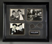 Laurel & Hardy Autographed Photo