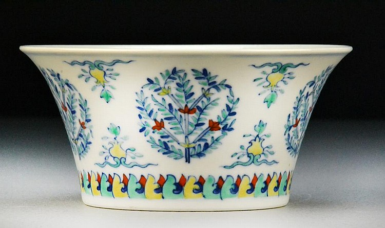 Chinese Dou Cai Porcelain Bowl