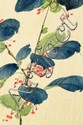 (2) Chinese Qing Watercolor Paintings On Silk