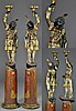 Pr. Blackamoor Carved & Painted Pedestals