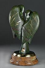 A Yevhen Prokopov Bronze Sculpture