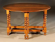 English Oak Gateleg Table