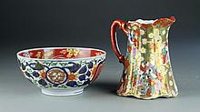 (2) Pieces. Japanese Porcelain