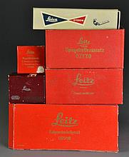 (6) Pcs Leica Leitz Camera Accessories