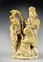 Chinese Soapstone Figural Carving