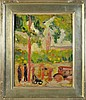 Georges Braque Oil Painting on Heavy Paper, Georges Braque, $2,500