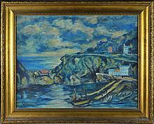 Manner of Oskar Kokoschka Oil Painting on Panel