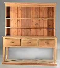 Antique Pine Welsh Cupboard