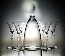 (7) Piece Lalique