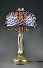 Lundberg Studios Favrille Art Glass Lamp