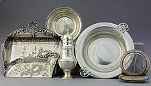 (7) Pc. Sterling and Silverplate Items Inc Pairpoint