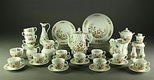 (62) Pcs Aynsley Cottage Garden Porcelain