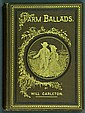1882 Illustrated Farm Ballads By Will Carleton