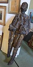 Sculptuur van een man, 170cm