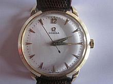 Omega Klassiek Vintage herenhorloge, plated, opwindmodel