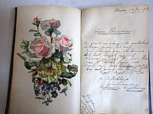 Poeziealbum, rond 1920