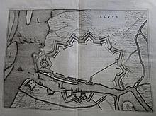 Plattegrond van Sluis, Smallegange, 32x46cm